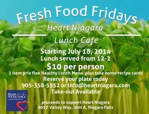 fresh food fridays - Invitation
